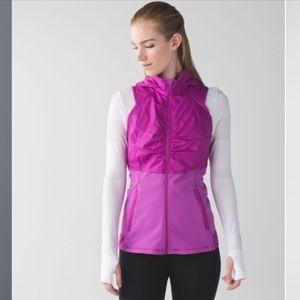 Lululemon Kanto Catch Me Vest Ultra Violet sz10 A4